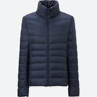 Женская темно-синяя легкая куртка на пуху ultra light down осень/весна  Uniqlo (пакуется в мешочек), фото 1