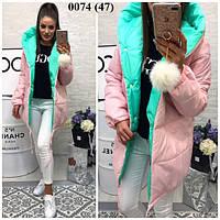 Женская куртка парка зима 0074 (47)