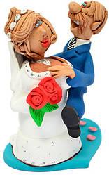 """Статуэтка """"Счастливая невеста"""""""