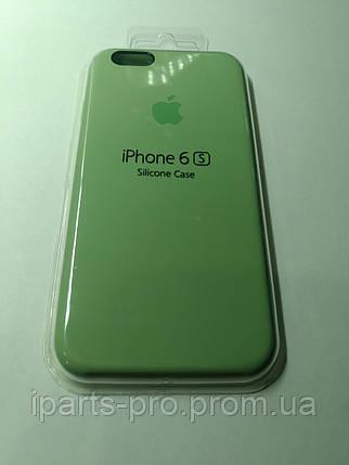Чехол Silicone Case iPhone 6/6S  ОЛИВКОВЫЙ , фото 2
