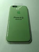 Чехол Silicone Case iPhone 6/6S  ОЛИВКОВЫЙ