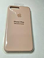 Чехол Silicone Case iPhone 7 плюс Светло- розовый