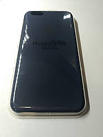 Чехол Silicone Case iPhone 6 плюс /6S плюс УГОЛЬНО-СЕРЫЙ