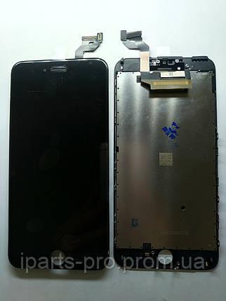 Дисплей Модуль LCD для iPhone6S плюс + Touch Orig ЧЁРНЫЙ, фото 2