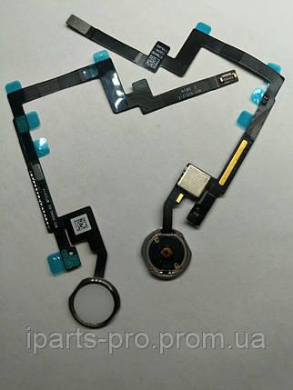 Шлейф для iPad mini 3 Home + кнопка Home orig БЕЛЫЙ/СЕРЕБРО , фото 2