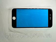 Стекло для iPhone6  Orig ЧЕРНЫЙ для ремонта битого модуля