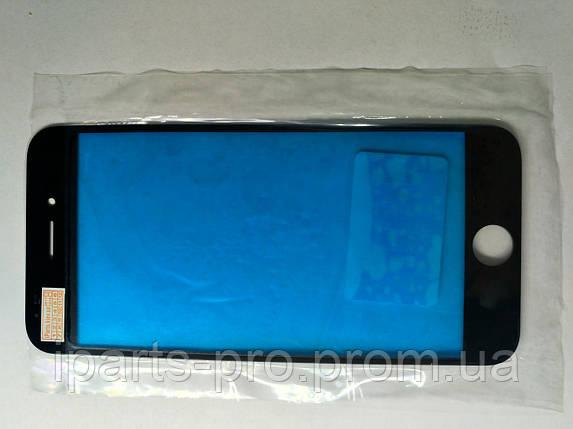 Стекло для iPhone6  Orig ЧЕРНЫЙ для ремонта битого модуля , фото 2