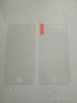 Стекло защитное для iPhone 4 / 4S глянцевое 0.3 мм, фото 2