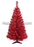 Ель искусственная цветная 1.5м красная