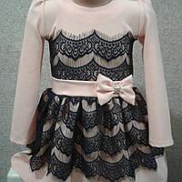 Платье для девочки  (кружева)