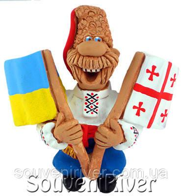 """Сувенирный магнит """"Украина - Грузия"""""""