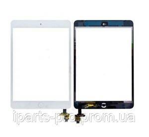 TOUCHSCREEN для iPad mini / mini2 БЕЛЫЙ Orig IC+ шлейф home Orig , фото 2