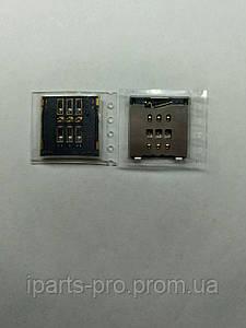 Конектор сим-карты для монтажа на плату для iPhone 6