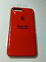 Чехол Silicone Case iPhone 7 КРАСНЫЙ