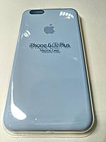 Чехол Silicone Case iPhone 6 плюс /6S плюс ЛАЗУРНЫЙ