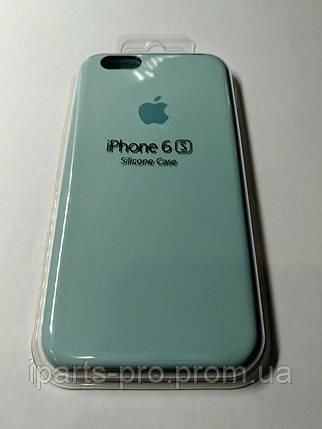 Чехол Silicone Case iPhone 6 /6S  БИРЮЗА, фото 2