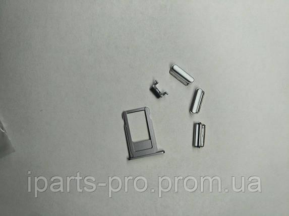 Корпус Back Cover для iPhone 6S ТЕМНО-СЕРЫЙ  Hi-copy, фото 2
