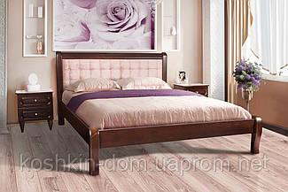 Ліжко двоспальне Соната 160*200 масив клена