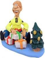 """Статуэтка """"Подарки под новогодней елкой"""""""