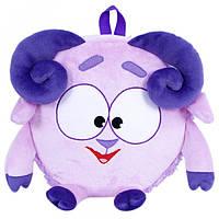 """Детский мягкий рюкзак Смешарики Бараш или """"Крошка барашек"""", 25 см Украина 00199-7, рюкзак для садика и прогуло"""