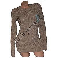 Женский вязаный свитер R534-2 (р-р 46-48) оптом в Одессе. Интернет-магазин Daifa.