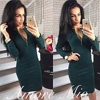 Платье из ангоры Габби тесно-зеленый , женские платья