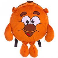 """Детский мягкий рюкзак Смешарики Копатыч или """"Крошка медвежонок"""", 25 см 00199-3, рюкзак для садика и прогулок"""