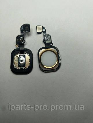 """Шлейф для iPhone 6S (4,7"""") Home Button+Home БЕЛЫЙ/ЗОЛОТО, фото 2"""