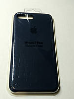 Чехол Silicone Case iPhone 7 плюс СИНИЙ
