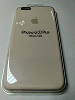 Чехол Silicone Case iPhone 6 плюс /6S плюс  МОЛОЧНЫЙ