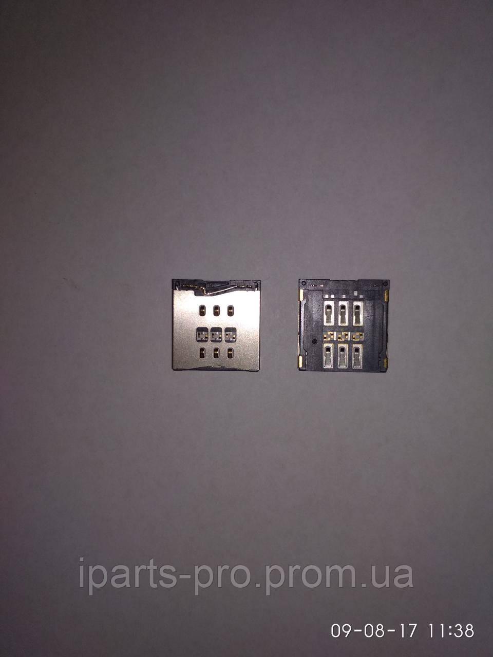 Конектор сим-карты для монтажа на плату для iPhone 5S/C