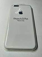 Чехол Silicone Case iPhone 6 плюс /6S плюс Белый