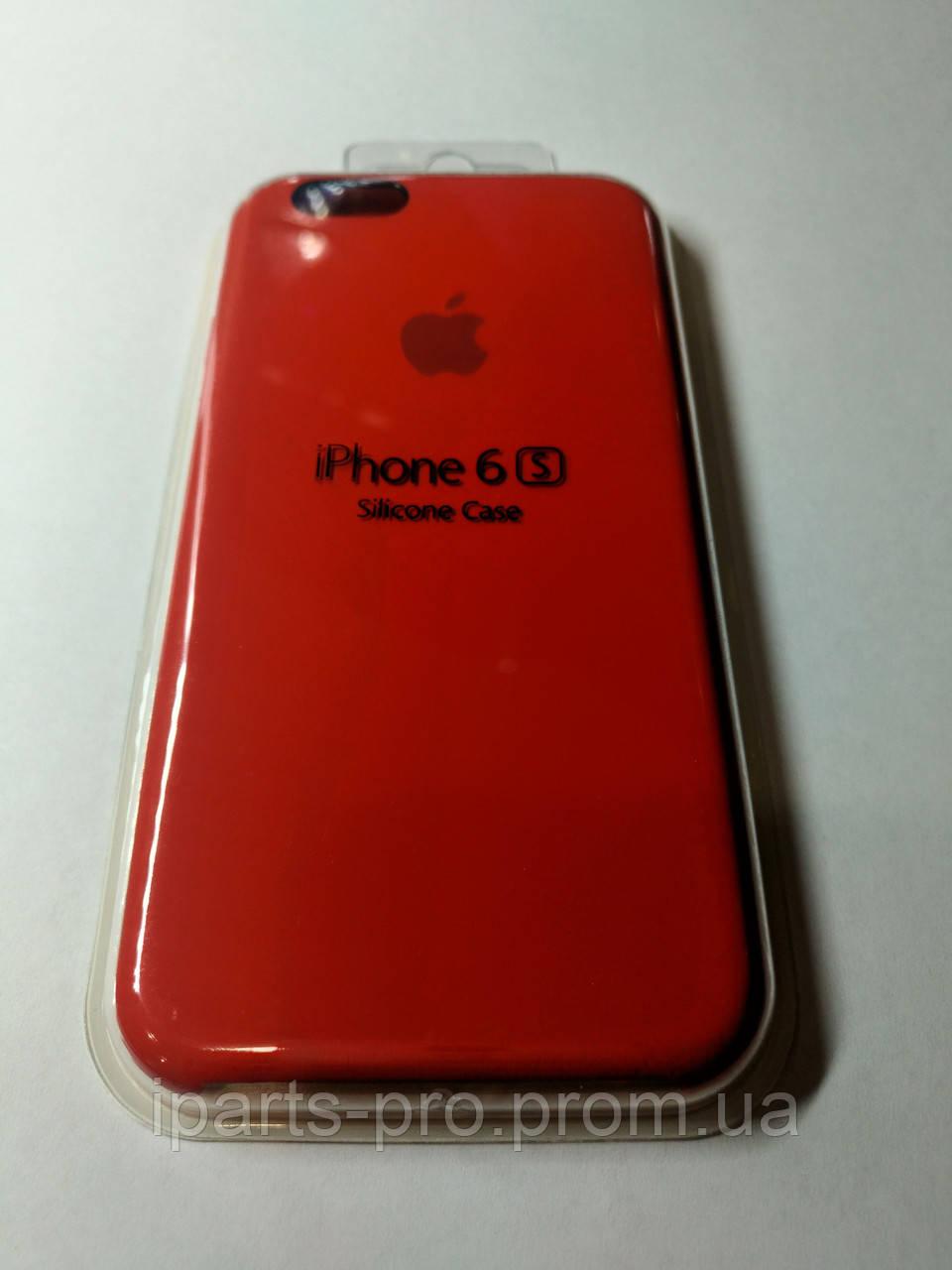 Чехол Silicone Case iPhone 6 /6S КРАСНЫЙ