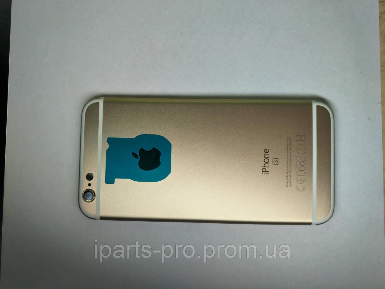 Корпус Back Cover для iPhone 6S ЗОЛОТО Hi-copy