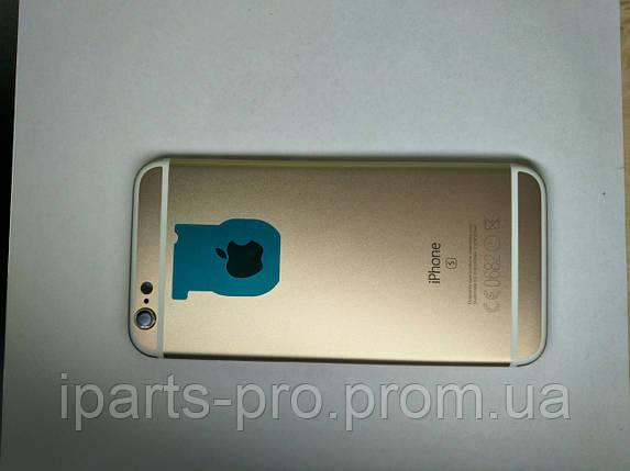 Корпус Back Cover для iPhone 6S ЗОЛОТО Hi-copy, фото 2