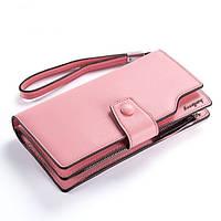 Клатч кошелек Baellerry женский розовый 64008Rose, фото 1
