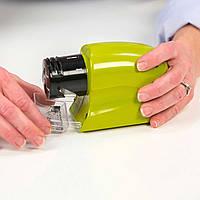 Универсальная электрическая точилка для ножей, ножниц и отвёрток SWIFTY SHARP , Хит продаж