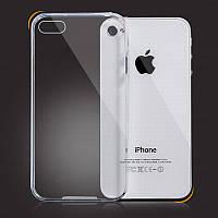 Силикон ультратонкий iPhone 4S (Clear)