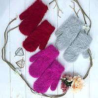 Очень теплые перчатки из ангоры