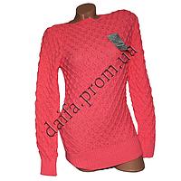 Женский вязаный свитер R772-2 (р-р 46-48) оптом в Одессе. Интернет-магазин Daifa.