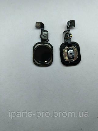 """Шлейф для iPhone 6 (4,7"""") Home Button+Home ЧЕРНЫЙ, фото 2"""