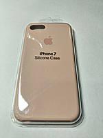 Чехол Silicone Case iPhone 7 Светло- розовый