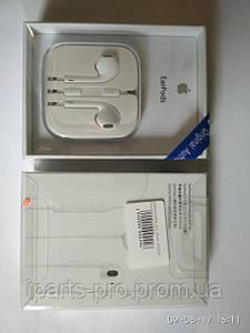 Handsfree для iPhone 5G/5S/5C Orig+большая упаковка