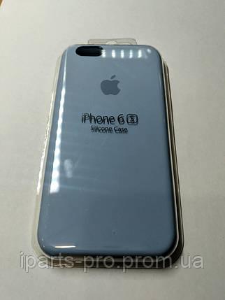 Чехол Silicone Case iPhone 6 /6S  ЛАЗУРНЫЙ , фото 2