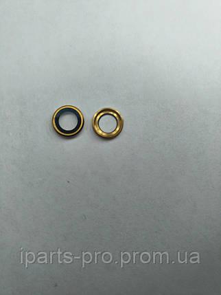 Кольцо камеры со стеклом для iPhone 6+, ЗОЛОТО , фото 2