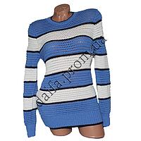Женский вязаный свитер R781-2 (р-р 46-48) оптом в Одессе. Интернет-магазин Daifa.