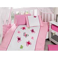 """Постельное белье в кроватку ТМ Cotton Box """"Бабочки"""""""