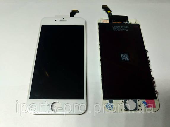 Дисплей Модуль LCD для iPhone6  + Touch Copy БЕЛЫЙ, фото 2
