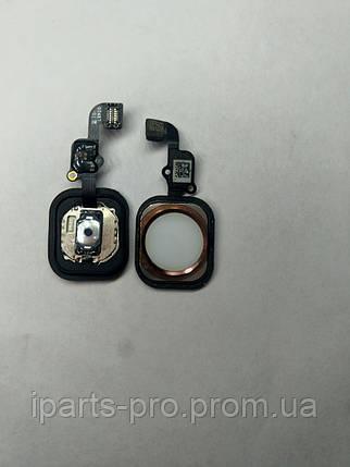 "Шлейф для iPhone 6S (4,7"") Home Button+Home БЕЛЫЙ/КРАСНОЕ ЗОЛОТО, фото 2"