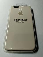 Чехол Silicone Case iPhone 6 /6S  МОЛОЧНЫЙ